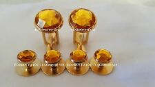 NEW Amber Gold Tuxedo Cufflinks Shirt Studs Tux Cuff Links USA FREE SHIPPING