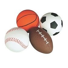Sports Stress Ball Set for Kids Fidget Toys for the Classroom ADHD Autism