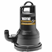 Wayne VIP50 Portable Electric WATER REMOVAL PUMP, Fully Submersible SUMP PUMP