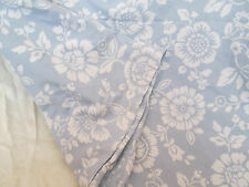 QUEEN/Full Duvet Cover ~ SURF Tropical BEACH Thisted Flora BLUE ~ Reversible