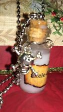 Skele-Gro Potion Bottle Necklace For Fan Of Harry Potter Halloween Cosplay
