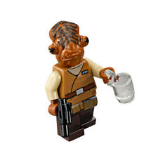 LEGO Star Wars Minifigure - Admiral Ackbar-  NEW from set 75140