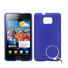 5X COVER HARD CASE RIGIDA PER SAMSUNG GALAXY S2 GT i9100 CUSTODIA BLUE MESH