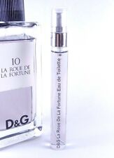 Dolce & Gabbana D&G # 10 La Roue De La Fortune 10ml Travel SAMPLE EDT 0.33 oz