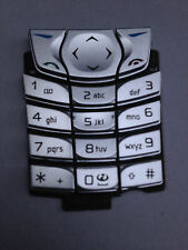 REPLACEMENT PLASTIC KEYPAD FOR NOKIA 6610 6610i MOBILE PHONES - SILVER