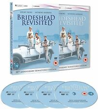 Brideshead Revisited Complete ITV TV Drama Series 4 Discs Box Set New Dvd