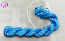 NEW 28m Nylon Chinese Knot Cord Thread For Braided Bracelet 1mm Dia free post Q9