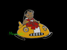 LILO with Wheels Up Driving her FLYING ALIEN CAR Disney 2014 Lilo & Stitch Pin