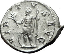 GORDIAN III 238AD Silver Genuine Ancient Roman Coin Poss Unpublished MARS i59464