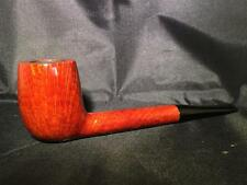 PIPA CANADESE LISCIA LUCIDA SMOKING PIPE 3mm FILTER MADE IN ITALY NUOVA