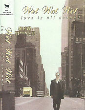 Wet Wet Wet ‎Love Is All Around CASSETTE SINGLE soundtrack film Four Weddings.