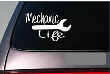 Mechanic Life jdm racing engine turbo filter sticker decal *E231* wrench tools