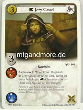 A Game of Thrones LCG - 1x Jory Cassel dt.  #101 - Zu den Bannern