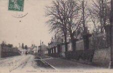 CPA  --  CHAULNES RUE DE LA GARE CONDUISANT A LA PLACE   ECRITE EN 1909  276.C