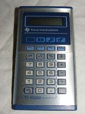 TEXAS INSTRUMENTS TI-1032 TASCHENRECHNER CALCULATOR