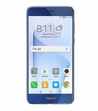 Huawei Honor 8 32GB Unlocked Smartphone DualCamera US Warranty Sapphire blue NEW