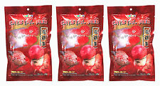 OKIKO High Quality Flowerhorn and Cichild Fish Food 3x100g. C-C-C Pellet Size L