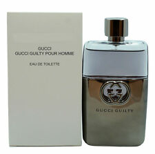 GUCCI GUILTY BY GUCCI POUR HOMME EAU DE TOILETTE SPRAY 90 ML/3 FL.OZ. (T)