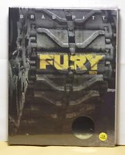NEW FURY BLU-RAY FULL SLIP STEELBOOK! KIMCHI EXCLUSIVE! LIMITED 2000! SOLD OUT