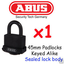 Abus All Weather Outdoor Padlock 45mm  Specifically manufactured for outdoors !!