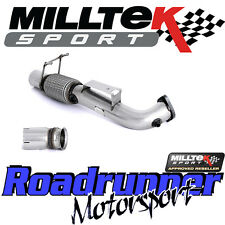 "Milltek SSXFD194 Focus RS MK3 3"" DeCat Downpipe Largebore Exhaust - Fits To OE"