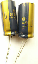 2200uf 35v 105c Panasonic EEUFC1V222 Size 31.5x16mm LOW ESR  x2pieces