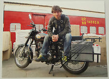 Guy Martin - Royal Enfield Indian Autographed 15 x 10 Photograph.