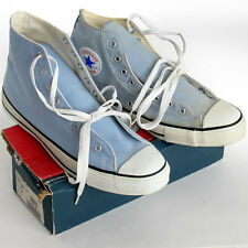 Vintage USA-MADE Converse NEW-IN-BOX All Star Chuck Taylor 12 'dusk blue' shoes