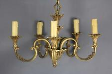 Antique bronze French  Chandelier 5 lights