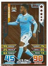 2015 / 2016 EPL Match Attax Bronze Limited Edition (LE4) Raheen STERLING Man C.