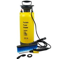 Portable Pressure Washer Power Pump Car Jet Wash Brush Hose Lance 8L Cleaner NEW