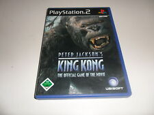PlayStation 2  PS 2  Peter Jackson's King Kong
