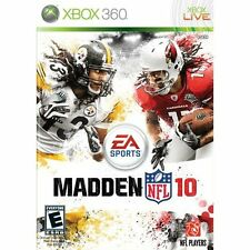 Madden NFL 10 For Xbox 360 Football 6E