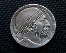 Superior  Hobo Nickel  Carving
