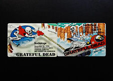 Grateful Dead Backstage Pass Snowmobile Sled Winter Puzzle 12/27,28/1990 Oakland