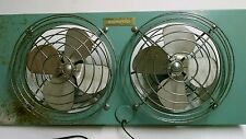 vintage window fan eskimo mcgraw-edison company used