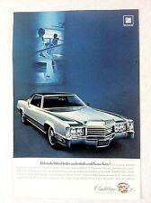 1970 Cadillac Eldorado Vintage Original Print Ad