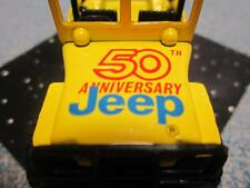 Matchbox Jeep 4x4 Limited 50th Anniversary Edition 1:64 Yellow RARE Tampoo New