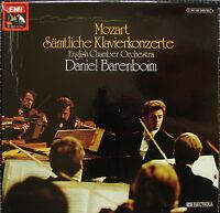 """12er-Box MOZART """"Sämtliche Klavierkonzerte"""" - BARENBOIM"""
