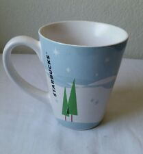 Nice STARBUCKS 2011 Winter Scene Coffee Tea Mug