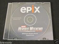 STAN LEE 'EPIX EXTRA: MIGHTY MOVIE SUPERHEROES' 2012 PROMO DVD