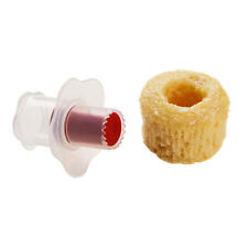 Cupcake Corer Clear Red Create Your Own Surprise Filled Cupcakes And Muffins New