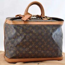 Authentic  Louis Vuitton Monogram Cruiser Bag 40 Boston Bag M41139 #U178
