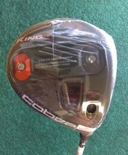 Cobra KING F6 Driver NEW Adjustable 9-12 Degree X Stiff RH Black Head Golf Club