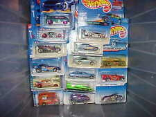 Hot Wheels Lot of 100 Different Carded Hot Wheels from 1997-2016 Free Shipping