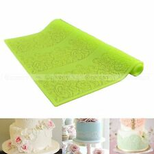 Silicone Lace Flower Mat Embossed Cake Mold Sugarcraft Sugar Decoration Tools