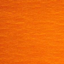 Feuille de crépon Papier orange 150 cm x 50 cm [112111]  loisirs creatif decor