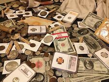 ✯ESTATE SALE LOT OLD US COINS✯CURRENCY✯PCGS NGC✯GOLD SILVER BULLION✯50 YEARS+✯
