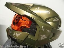 HALO 3 BUNGIE #11 Staff Autographed Signed Helmet New Video Game XBOX 4 Destiny