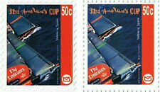New Zealand America's Cup Sailing Challenge Stamps Ships/Sailing Vessels